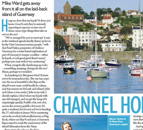 Channel Hopping - Guernsey